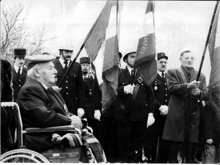60eme anniv armistice 1918