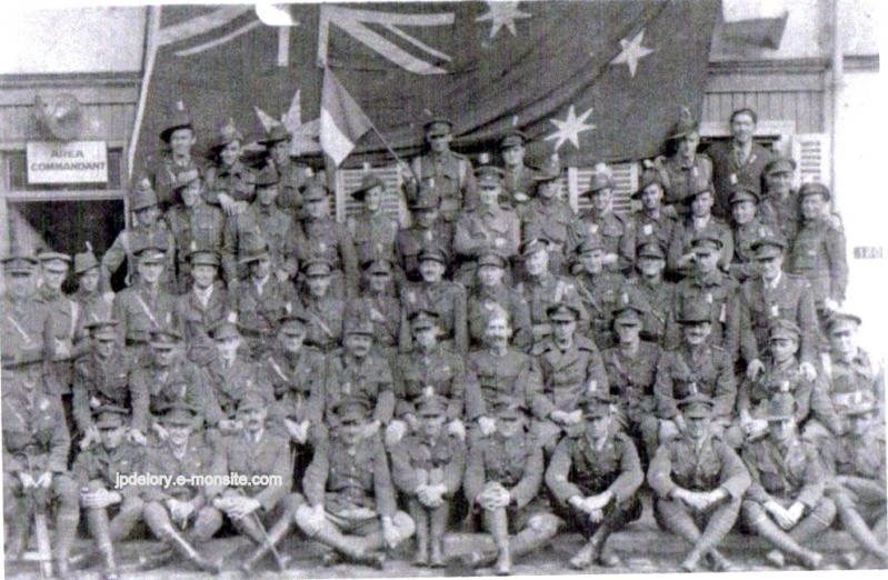 Australiens sous leur drapeau af