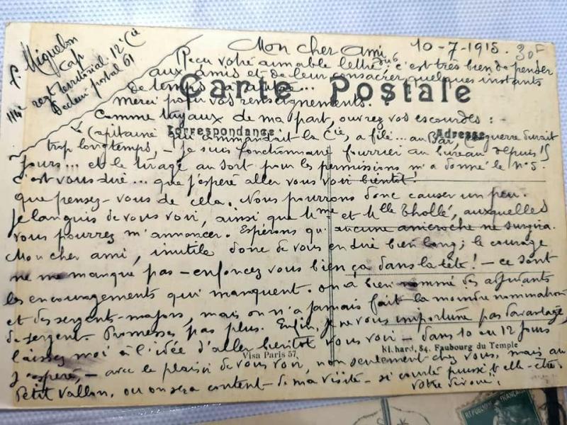 Carte postale 1915