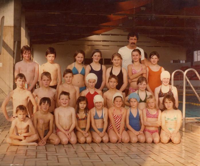 Classe la piscine