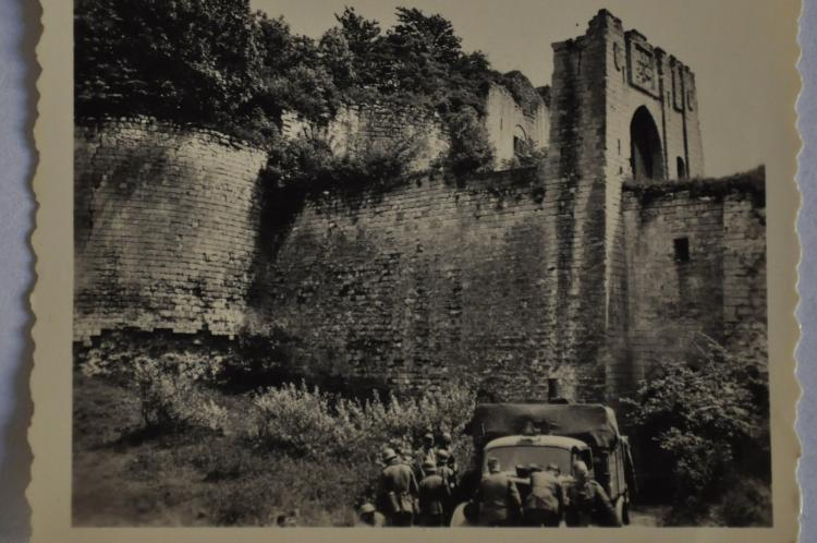 En 1940 les allemands au chateau