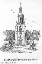 La clocher de l eglise st jean