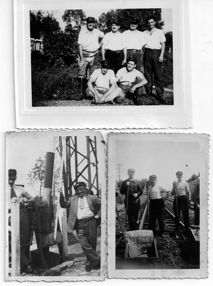 Ouvriers des chem de fer